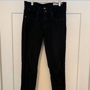 Rag & Bone Skinny Black Jeans Size 28